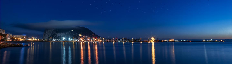 Gibraltar at Night